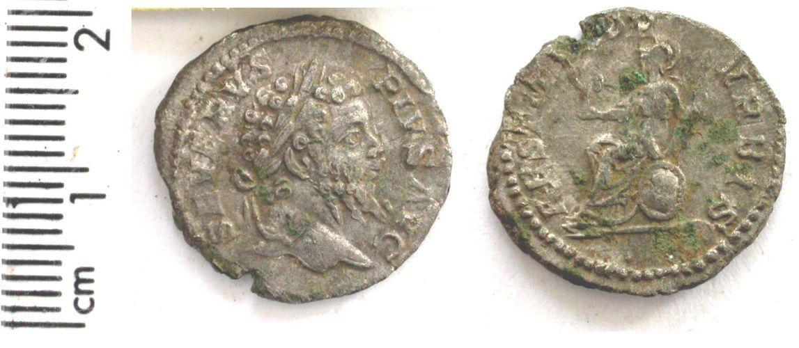 BERK-8FC284: Roman coin : denarius of Septimius Severus