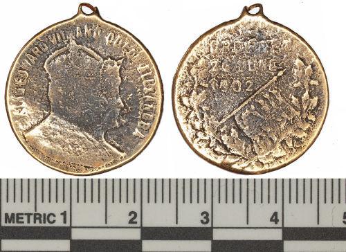 BUC-D9F971: Edward VII Coronation Pendant