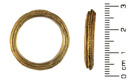 HESH-B61048: Early Medieval / Byzantine: Gold Ring