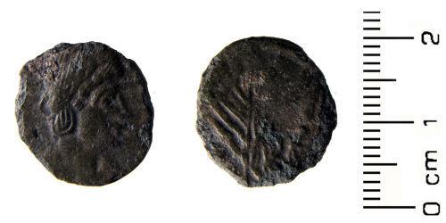 HESH-058164: Roman Coin: Nummus of House of Constantine