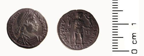 HESH-25A161: Roman: Silver siliquae of Valentinian I