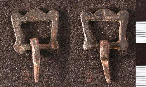HESH-29C9D4: Post-medieval buckle frame