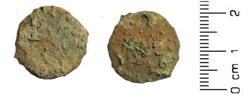 HESH-2B05B3: Roman coin: nummus