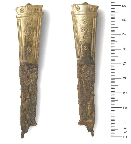 HESH-4714F5: Medieval Knife Handle