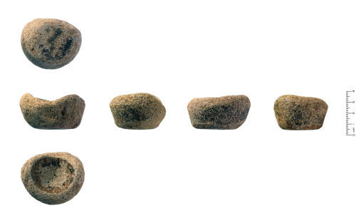 Medieval crucibles from Wales, via finds.org.uk