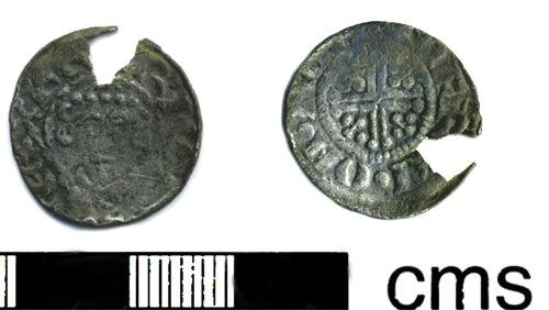 HESH-580262: Short cross silver penny of John  1204-1209.
