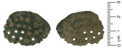 HESH-5EFC15: Medieval: skimmer vessel fragment