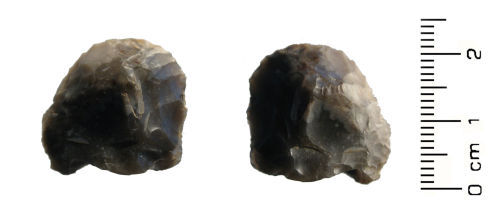 HESH-681E11: Late Neolithic to Early Bronze Age: 'Thumbnail' scraper