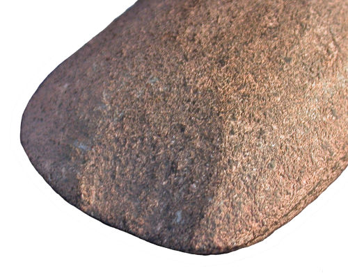 HESH-792474: Neolithic Axe (showing damage to cutting edge)