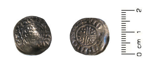 HESH-799071: Medieval Coin: short cross penny of King John