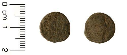 HESH-7EE501: Roman Coin: Nummus of House of Constantine 307-361