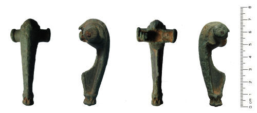 HESH-850C02: Roman: Colchester derivative (Polden Hill Style) brooch