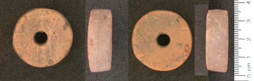 HESH-8BE8E7: Roman Spindle Whorl