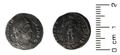 HESH-973BF4: Roman coin: siliquae of Valens I