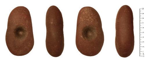 HESH-BBD923: Mesolithic - Bronze Age: Macehead Pebble Hammer