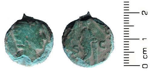 HESH-C1A787: Roman Coin: As of Julia Domna