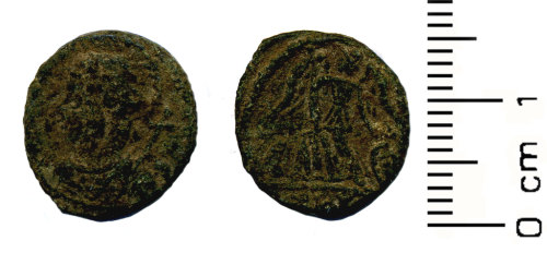 HESH-CC38E4: Roman Coin: Numus of House of Constantine
