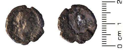 HESH-E0E475: Roman Coin: Denarius of Antoninus Pius