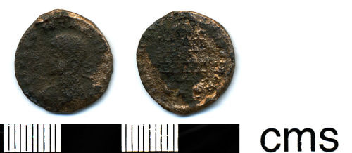 HESH-E6D711: Roman Coin: Nummus of the House of Constantine
