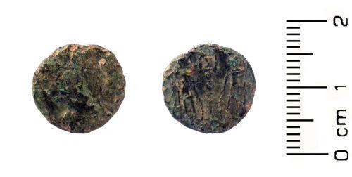 HESH-EC2968: Roman Coin :  Nummus of the House of Constantine
