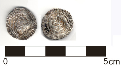 HESH-FB5676: Coin: Henry VII (1485-1509) Silver Penny, York (Archbishop Rotherham) Mint
