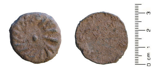 HESH-FD9151: Late Medieval to Post Medieval: lead token