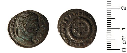 HESH-0B6ED7: Roman Coin: Nummus