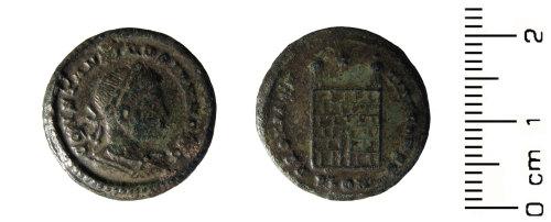 HESH-0BCF92: Roman Coin: Nummus