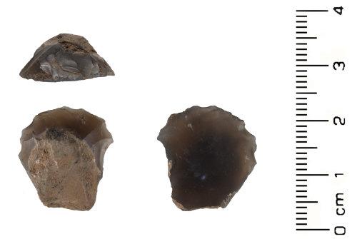 HESH-30EE74: Neolithic: Thumbnail Scraper
