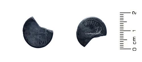 HESH-4392F9: Roman Coin: Mark Anthony