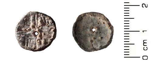A resized image of Post Medieval: Lead token