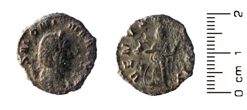 HESH-800095: Roman Coin: Radiate of Salonina