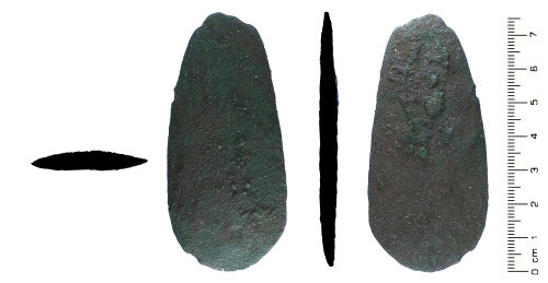 HESH-A05816: Early Bronze Age / Chalcolithic: Axe / Knife Blank