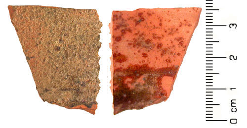 HESH-C42081: Post Medieval: vessel sherd
