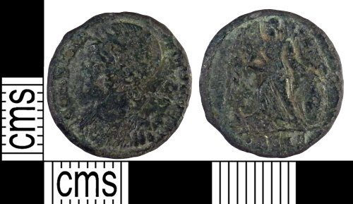 FAPJW-35EE96: Roman coin: Nummus of the House of Constantine