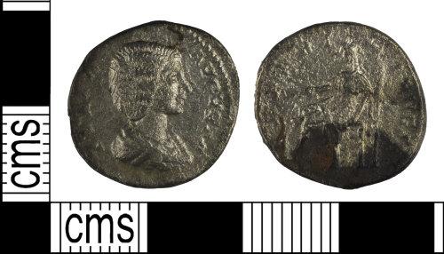 BH-80312D: Roman coin: denarius of Julia Domna