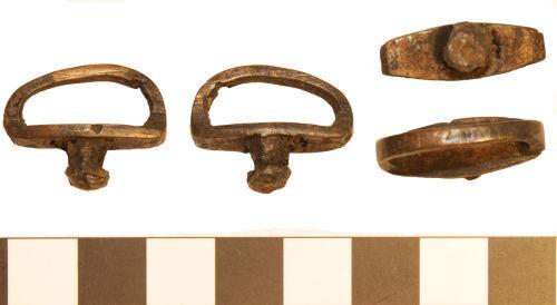 BM-B674D8:  BM-B674D8: Roman phalera attachment loop