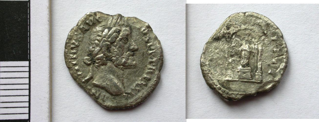 NCL-C5A2F4: Denarius of Antoninus Pius