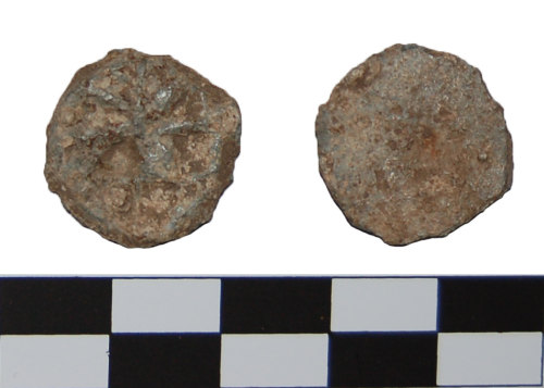 BH-6AD1A2: Medieval or post medieval token