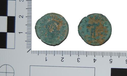 BH-6D438D: Roman nummus of Licinius I