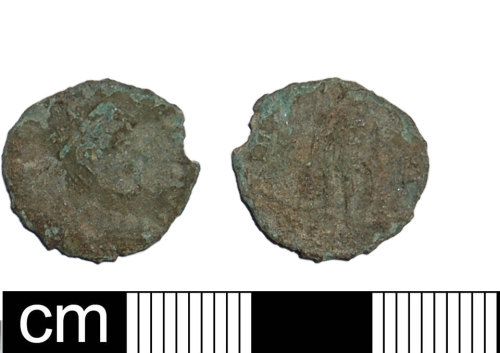 BH-ADEE92: Roman nummus of the House of Constantine