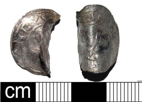 BH-FD201B: Medieval silver coin of unknown provenance