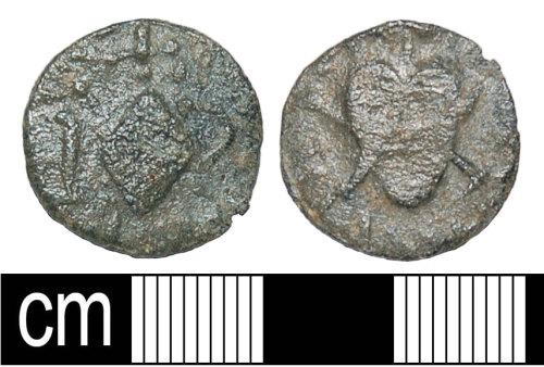 BH-1CE32D: Post Medieval token