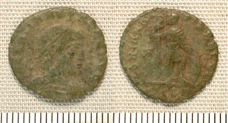 NMGW-E54707: Roman coin: Bronze of Gratian