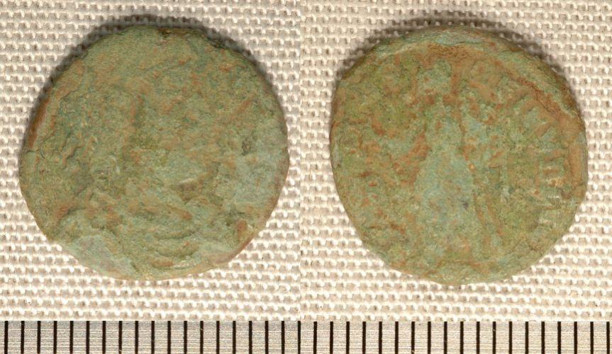 NMGW-5F9215: Roman coin: bronze of the House of Valentinian