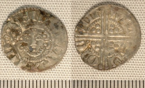 NMGW-F3FD33: Medieval coin: penny of Henry III