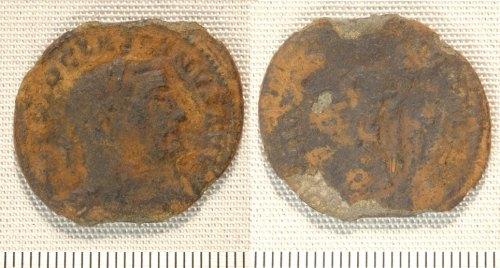 NMGW-0D3C55: Roman coin: nummus of Diocletian