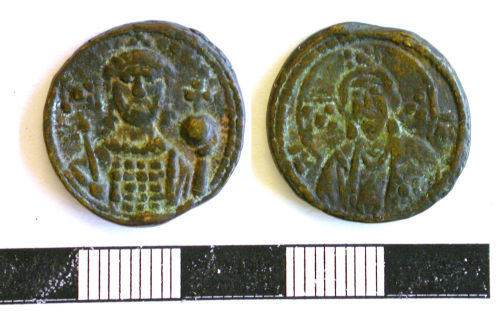 NCL-3300B0: Early Medieval token: byzantine