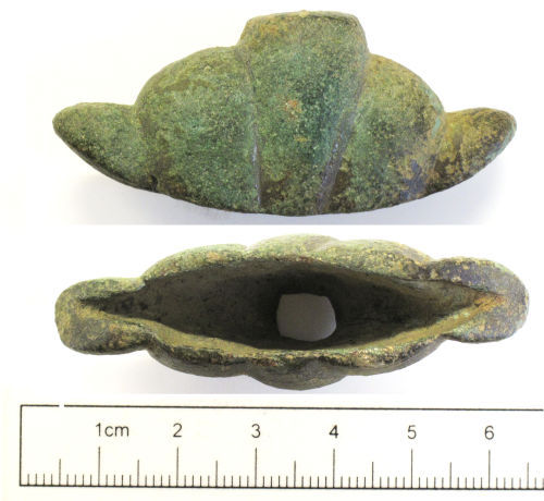 NCL-6ACEB3: Early Medieval Anglo-Scandinavian sword pommel