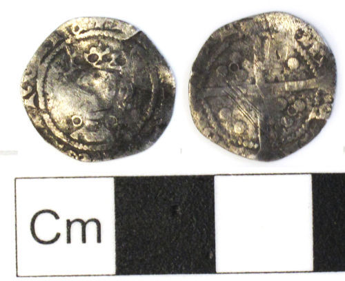 NCL-20BCC4: Medieval coin: penny of Henry VI